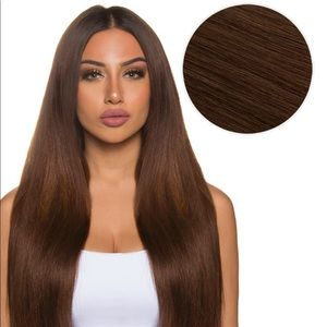 Bellami hair extensions chocolate brown